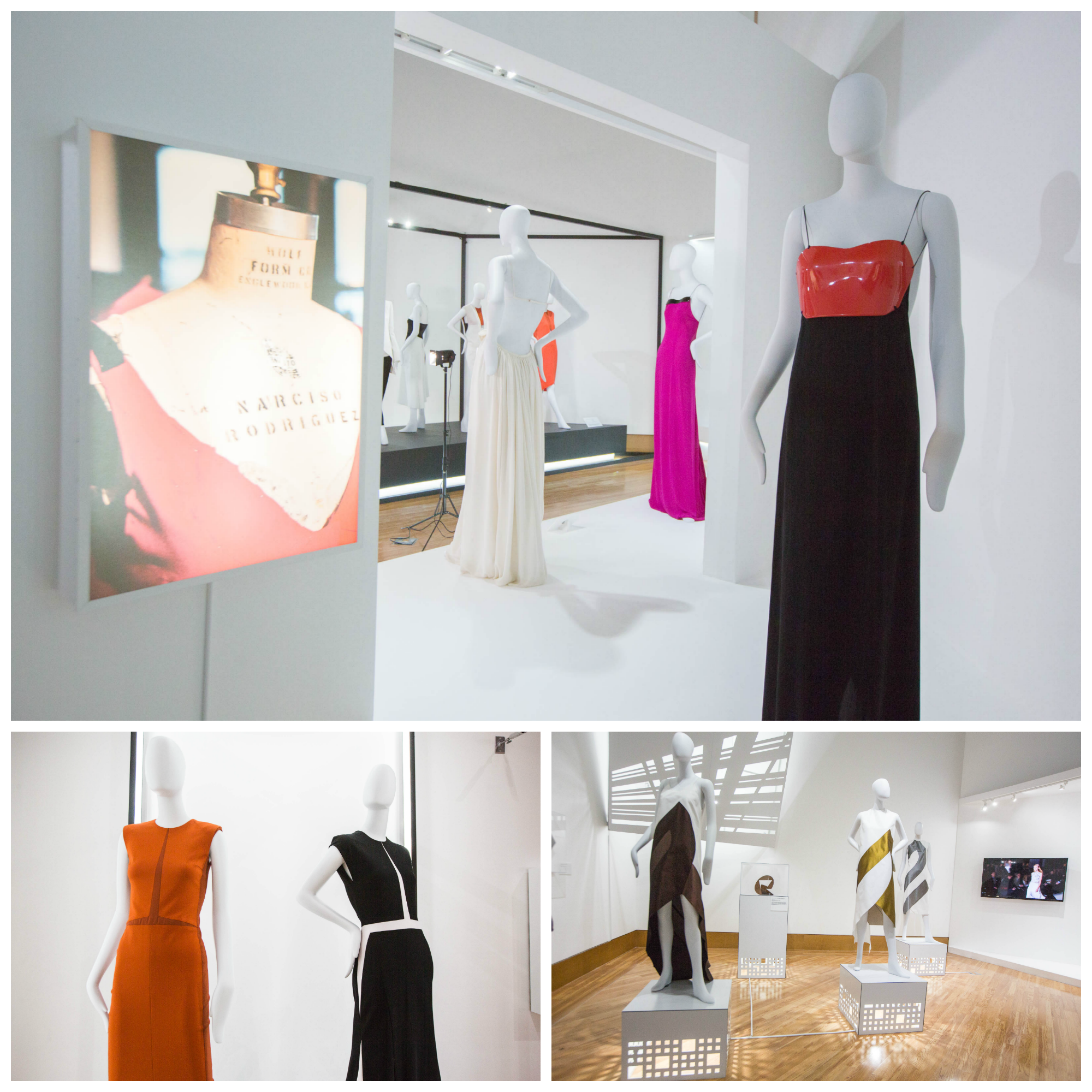 Narciso Rodriguez exhibit at FIU
