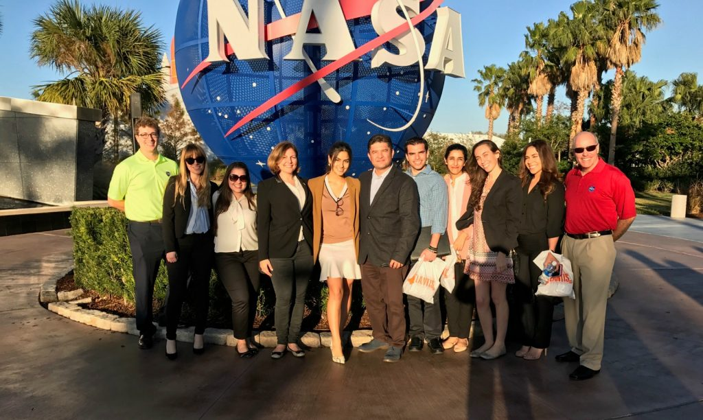 FIU students visit Kennedy Space Center