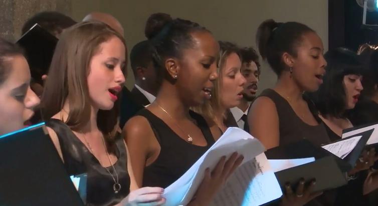 FIU choir in Cuba