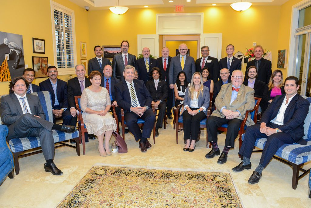 Endowed Faculty Reception at FIU