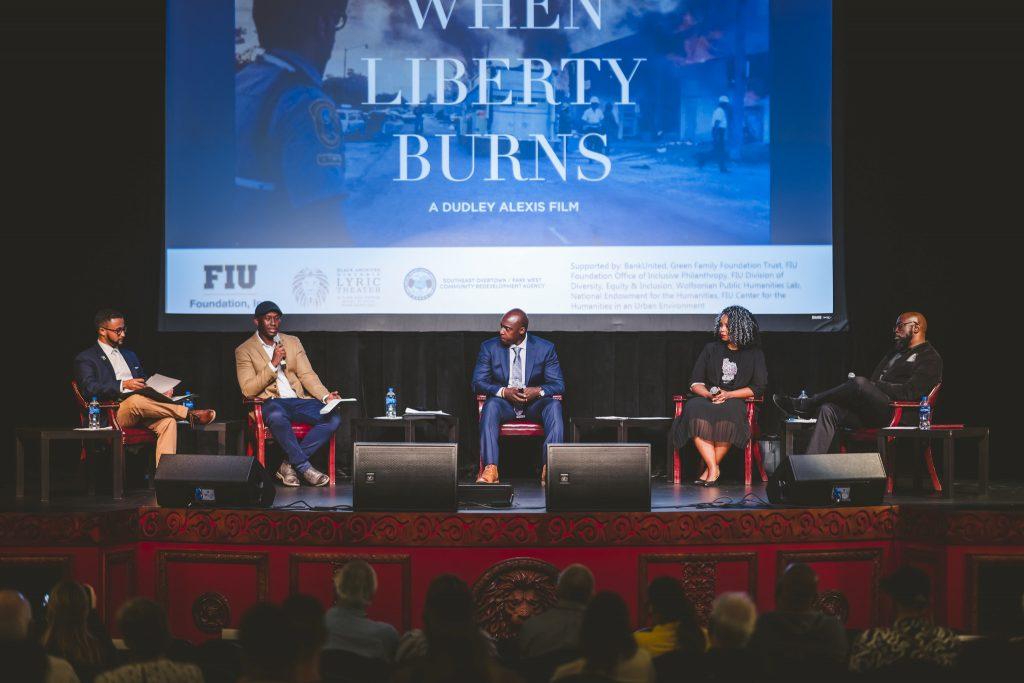 When Liberty Burns panelists